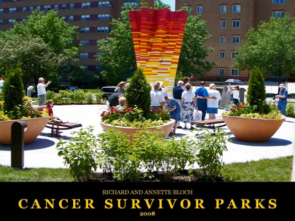 Richard and Annette Bloch Cancer Survivors Parks 2008