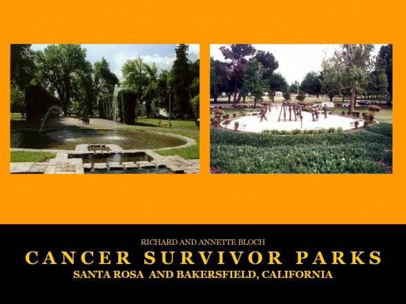 Santa Rosa and Bakersfield, CA Cancer Survivor Parks