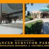 Minneapolis, MN and Columbia, SC Cancer Survivors Parks