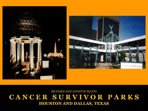Houston and Dallas, TX Cancer Survivors Parks