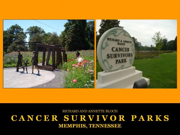 Memphis, TN Cancer Survivors Park