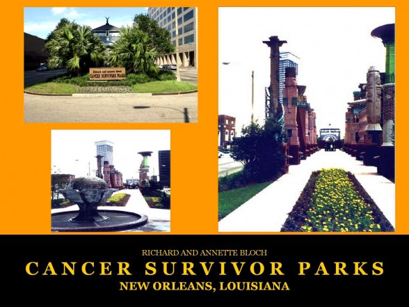 New Orleans, LA Cancer Survivors Park