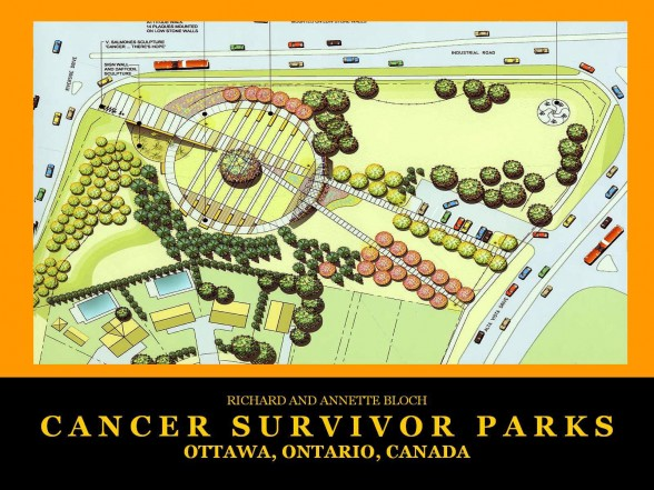 Ottawa, ON Cancer Survivors Park plan