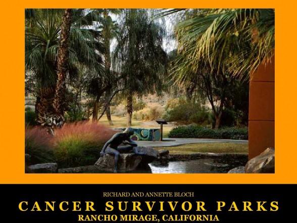 Rancho Mirage, CA Cancer Survivors Park