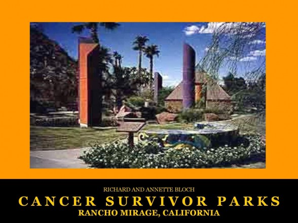 Rancho Mirage, CA Cancer Survivors Park