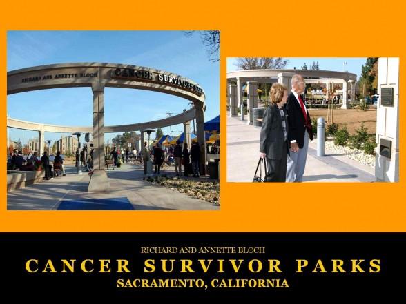 Sacramento, CA Cancer Survivors Park