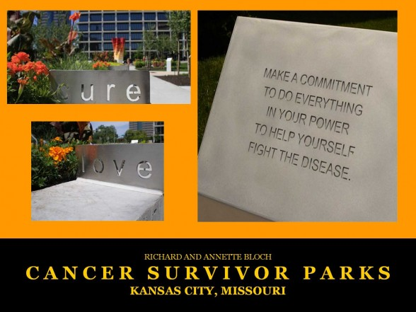 Kansas City, MO Cancer Survivors Park
