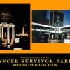 Houston and Dallas, TX Cancer Survivors Parks